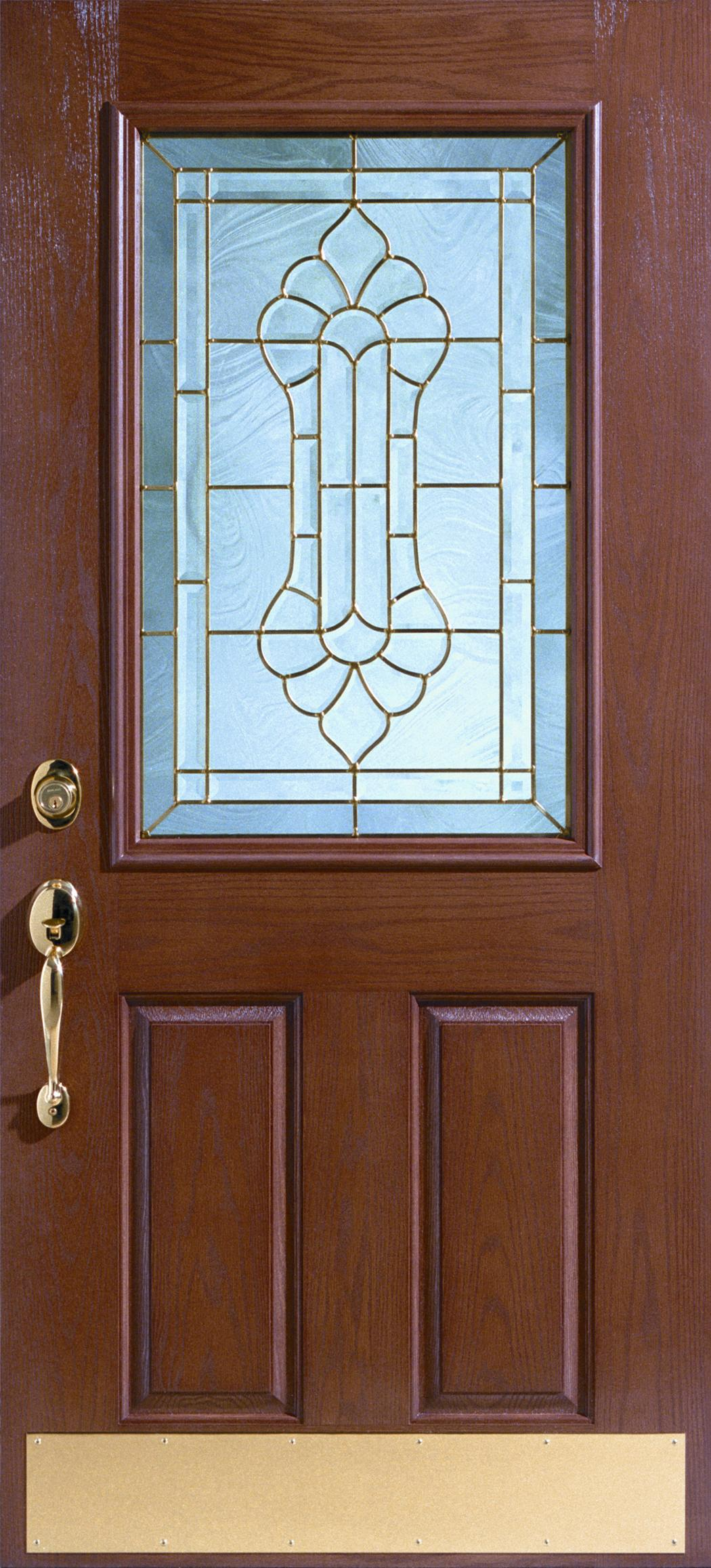 Discount exterior doors fiberglass entry doors storm for Fiberglass entrance doors