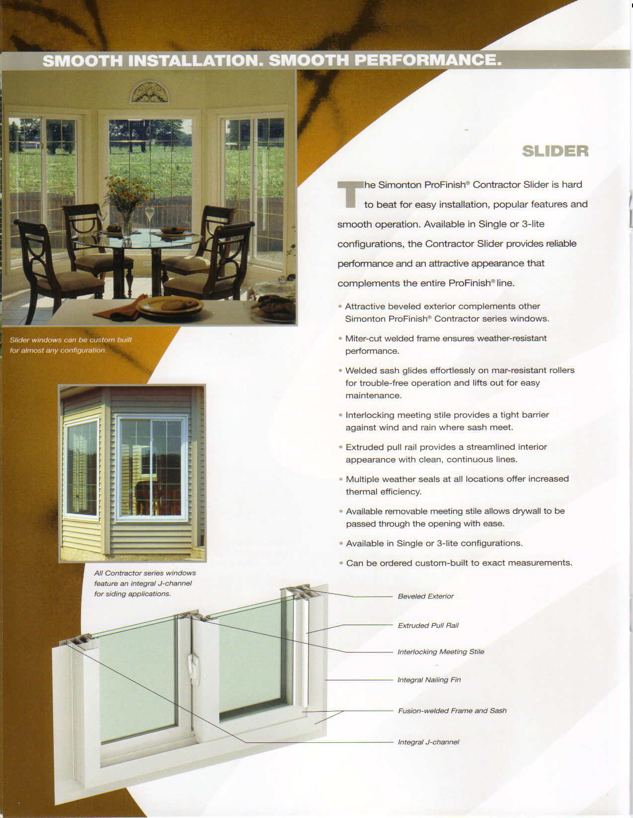 Discount single sliding new construction windows price for Vinyl windows online