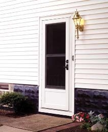 Discount aluminum storm doors price buy storm doors online for Storm door prices