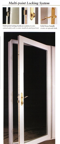 Discount french patio doors price buy french doors online for Single swing patio door