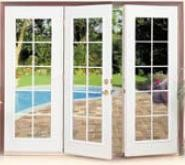 1000 images about triple patio doors on pinterest for Triple french doors exterior