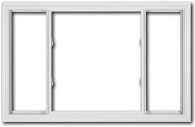 Discount 3 lite sliding replacement windows price buy for Vinyl windows online