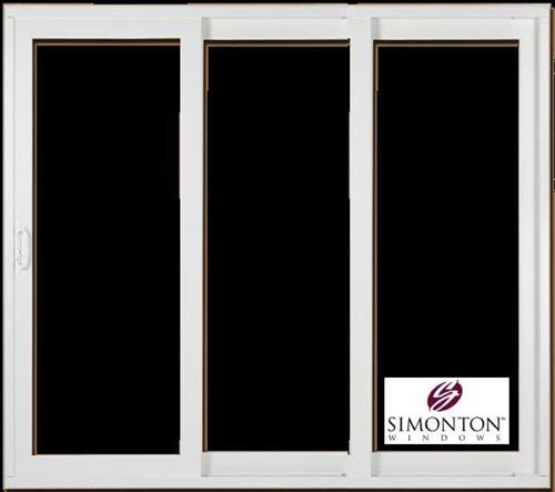 9u0027 PATIO SLIDING GLASS DOOR Replacement By Simonton Prism Platinum Series