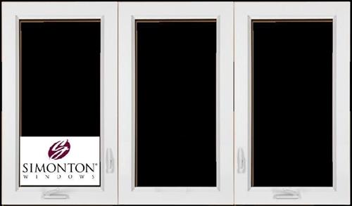 Discount 3 Lite Casement New Construction Windows Price