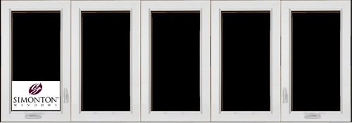 Discount 5 Lite Casement New Construction Windows Price