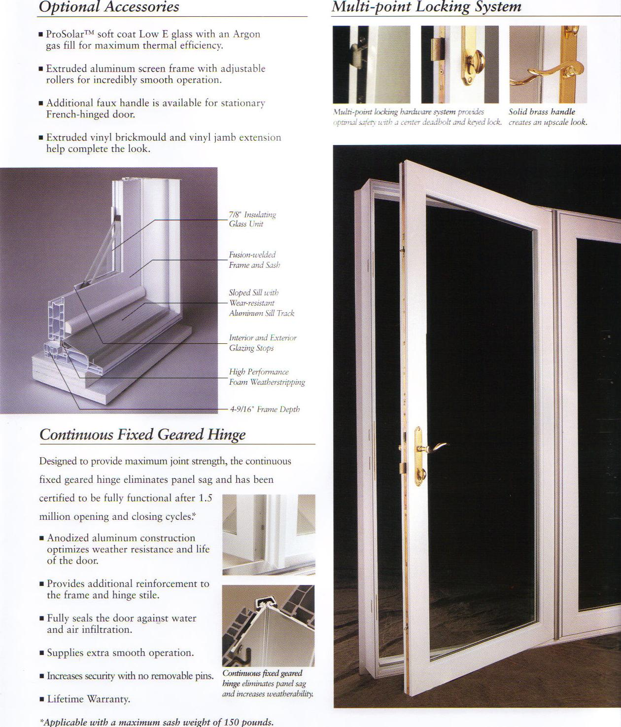 single hinged patio doors. French Patio Doors Single Hinged D