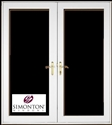 G6068DH - 6' Double Hinged French Doors