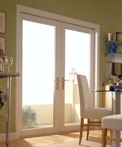 Discount french patio doors price buy french doors online for Double hinged patio doors
