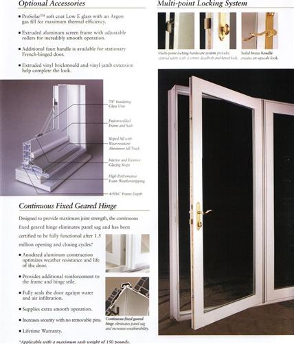 Design Your 6u0027 Simonton Single Hinged French Door ...