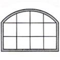 Discount eyebrow w leg windows price buy special shape for Buy vinyl windows online