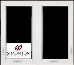 S420 - Simonton Double Casement Windows