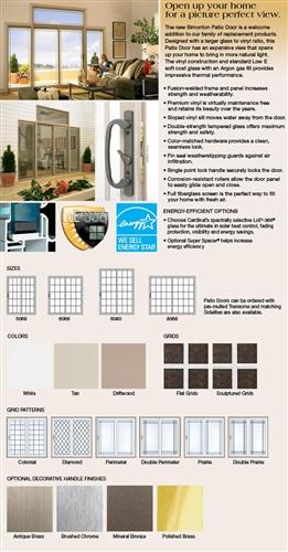 DISCOUNT SLIDING GLASS PATIO DOORS - Price & Buy Patio Doors online