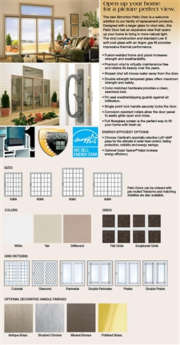 Design Your 8u0027 Simonton Sliding Glass Door ...