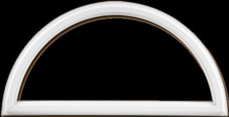 Discount half round windows price buy special shape for Buy new construction windows online