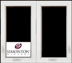 SNC420 - Simonton Double Casement Windows